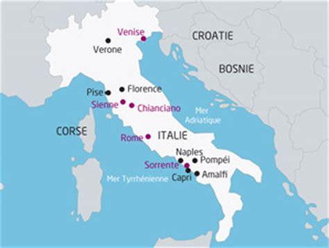 Carte Italie Ville Pise by Voyage Autocar Italie Le Grand Tour D Italie 13 Jours