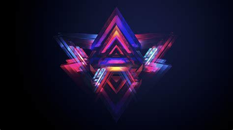 Abstract Pyramids Wallpapers