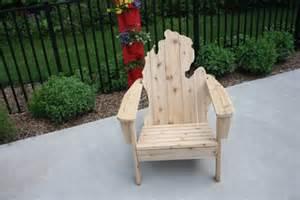 michigan state adirondack chair search auction
