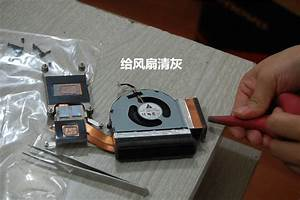 Lenovo Thinkpad T520 Disassembly  Clean Cooling Fan