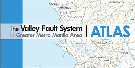 earthquake fault runs   metro manila barangays
