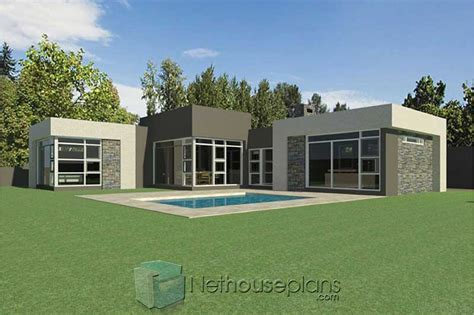 modern  bedroom house plans south africa single storey house plans nethouseplans