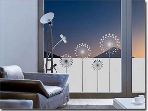 Türen Mit Folie Bekleben : sichtschutzfolie moderne pusteblume fenster folie deko fenster sichtschutz fenster und ~ Frokenaadalensverden.com Haus und Dekorationen