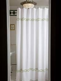 restoration hardware shower curtain Amazon Com Cynthia Rowley Luxury Fabric Shower Curtain ...