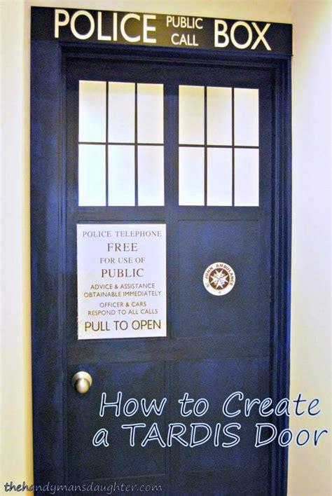 tardis door  handymans daughter
