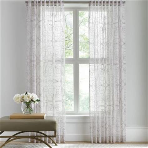 buy sheer curtains from bed bath beyond