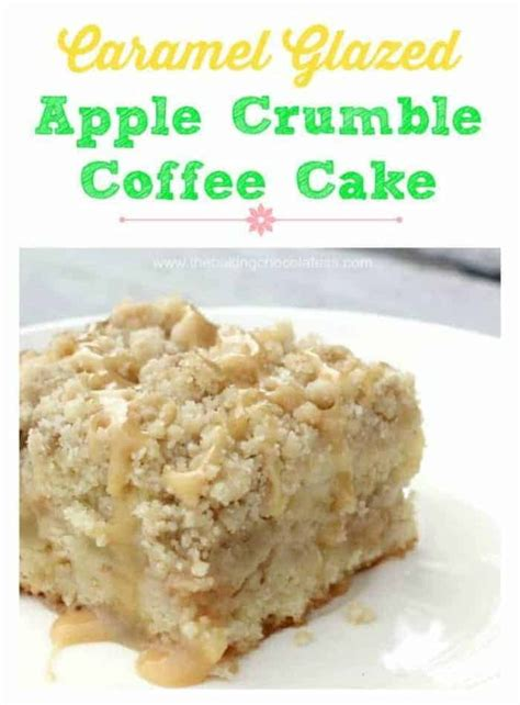 The past few times i have been in a rumble, i. Caramel Glazed Apple Crumble Coffee Cake | Recipe | Coffee cake, Apple recipes, Dessert recipes