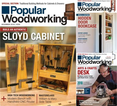popular woodworking magazine    year limited time