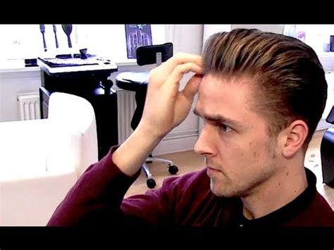 Men Classic Rockabilly Hairstyle Blowdryer Tutorial