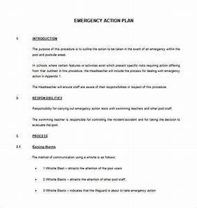 Emergency action plan template templates resume for Padi emergency action plan template