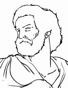 Sketch Of Aristotle Coloring Pages