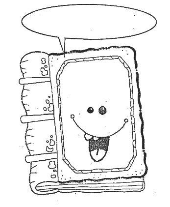 Dibujos para colorear Día del libro