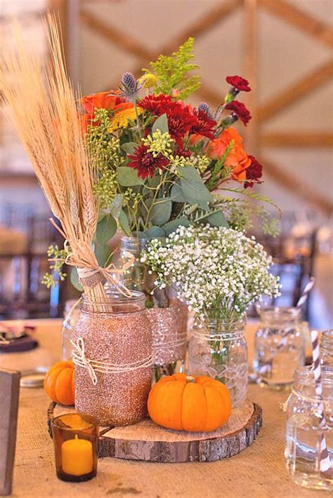 21 Incredibly Amazing Fall Wedding Decoration Ideas Mrs