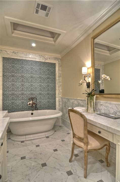 hexagon mosaic tile shower floor 30 floor tile designs for every corner of your home