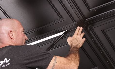 drop ceiling tiles 2x4 black aristocrat black 2x4 by ceilume