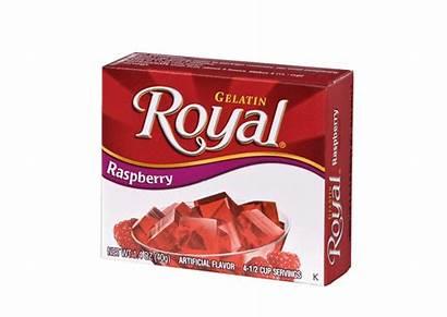 Raspberry Royal Gelatin Satisfaction Flavor Rich Give