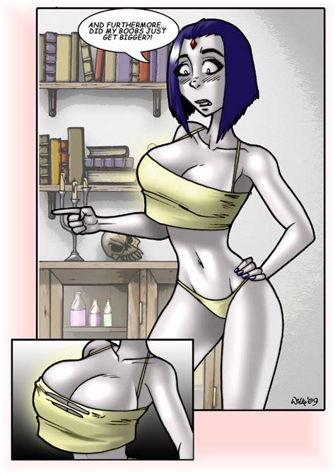 breast expansion comic 2 raven xxx slut superheroes pictures luscious hentai and erotica