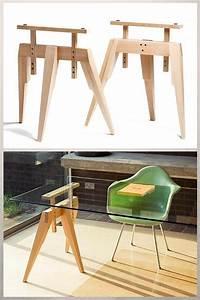 Tréteaux Pour Table : tr teaux design 21 id es pour la table ou le bureau ~ Melissatoandfro.com Idées de Décoration