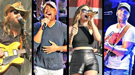 country fan fest 2017 lineup tortuga music festival 2017 adds chris stapleton luke