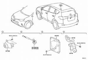 Toyota Rav4 Wire  Television Camera  Cnd  Audio