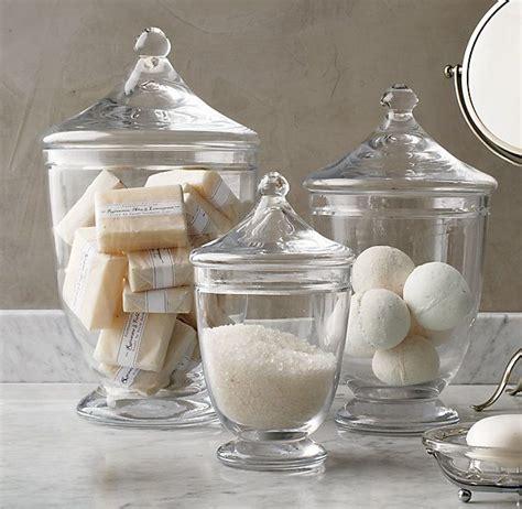 Bathroom Apothecary Jar Ideas by Best 25 Apothecary Jars Kitchen Ideas On