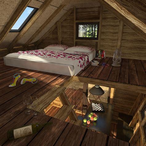 bedroom cabin loft floor plans