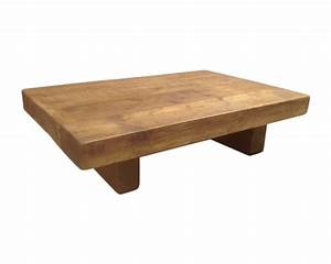 the 3 x 3 chunky rustic coffee table With chunky rustic coffee table