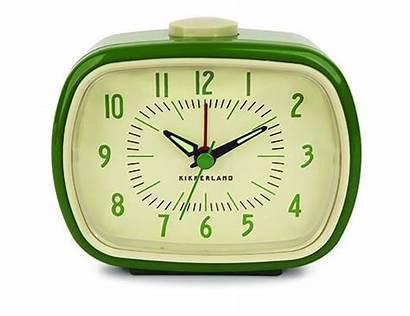 Clock Alarm Retro Kikkerland Clocks Bedroom Inspired