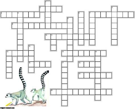 Mammal Crossword