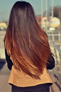 Brune Meche Caramel : balayage sur brune cheveux lisse ~ Melissatoandfro.com Idées de Décoration