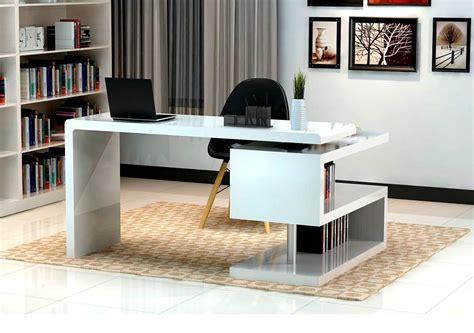 white office desk modern white gloss office desk sj33 desks