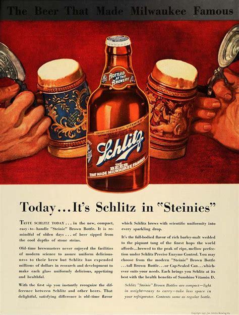 Schlitz Billboard images  vintage wisconsin beer ads  pinterest 736 x 972 · jpeg