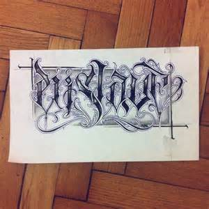 Chicano Tattoo Lettering Fonts