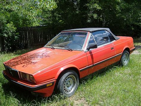 1987 Maserati Biturbo For Sale by 1987 Maserati Biturbo Spyder For Sale Guyton