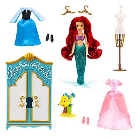 disney princess  mermaid ariel wardrobe doll play