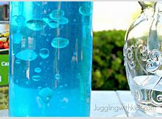 Oil Bubbles in Water Experiment – Juggling With Kids
