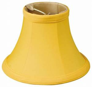 Quot yellow bell chandelier shade traditional lighting