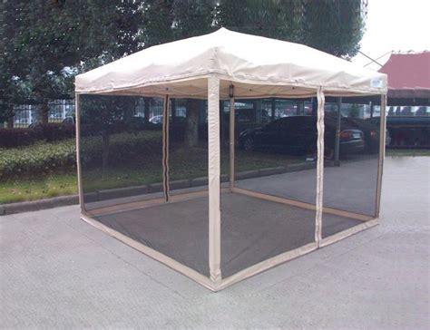 quictent ez pop  gazebo canopy  netting screen house mesh sidewall  sizes ebay