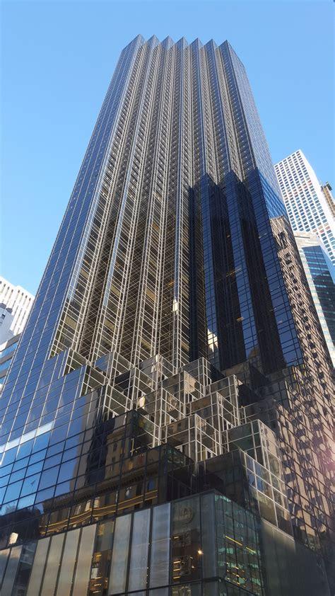 trump tower avenue fifth taken