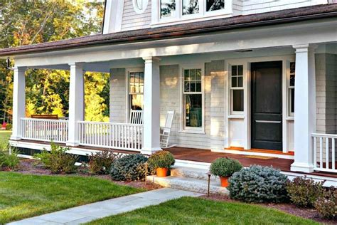 front porches on colonial homes farmhouse porch railing siudy