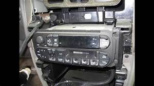 Installation Of An Aftermarket Stereo In A 2001 Dodge Grand Caravan