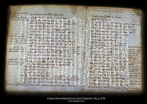 ancient philosophical writings  hidden beneath