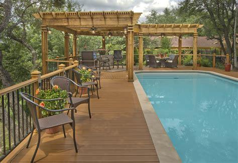 pool pergola l shaped pergola around pool archadeck outdoor living