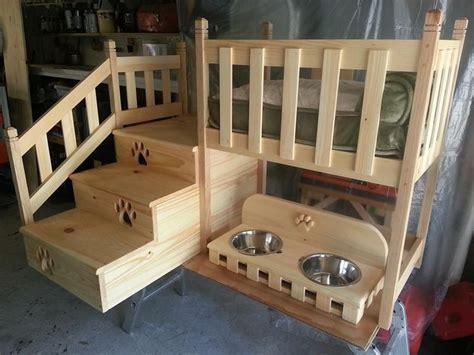 pin   marshall  furniture  building ideas dog bunk beds dog bedroom pet bunk bed