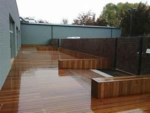 Terrasse En Ipe : terrasse ip avec banc pos e l 39 aide du syst me topclip ~ Premium-room.com Idées de Décoration