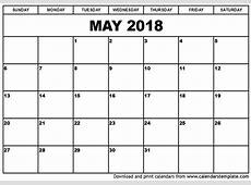 may 2018 calendar with holidays calendar template excel