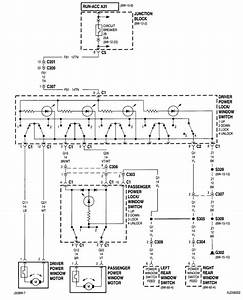 I Am Looking For A Wiring Diagram For The Power Window System In My 2000 Jeep Cherokee Sport