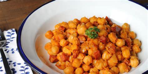 cuisine et mets pois chiches au chorizo une bonne recette simple avec