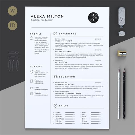 resume fonts and layouts 2 pages resume by estartshop on creativemarket graphicart layout resume