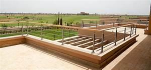 rambarde de terrasse en bois alsace bois concept With terrasse jardin leroy merlin 8 coffrage pour wc suspendu universel blanc leroy merlin
